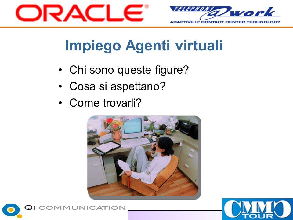 Impiego Agenti virtuali Chi sono queste figure? Cosa si aspettano? Come trovarli?
