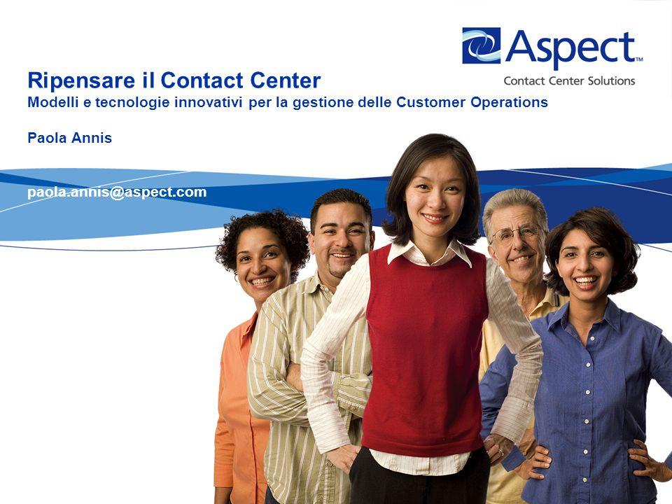 2 Cinque misurazioni….sul campo 1.Quasi due contatti su cinque non incontrano la soddisfazione del cliente.