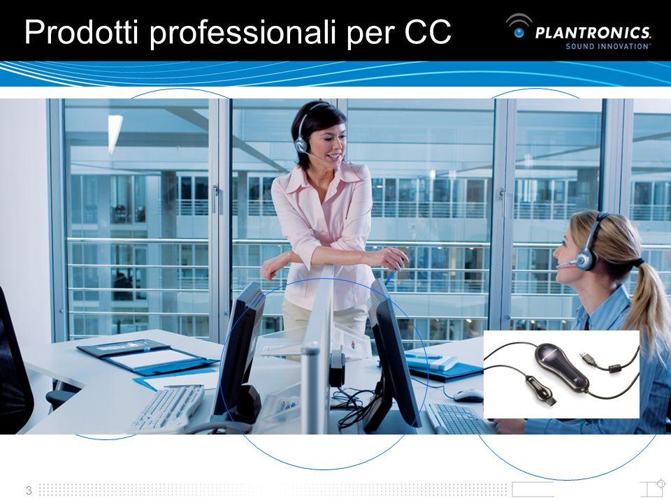 3 Prodotti professionali per CC