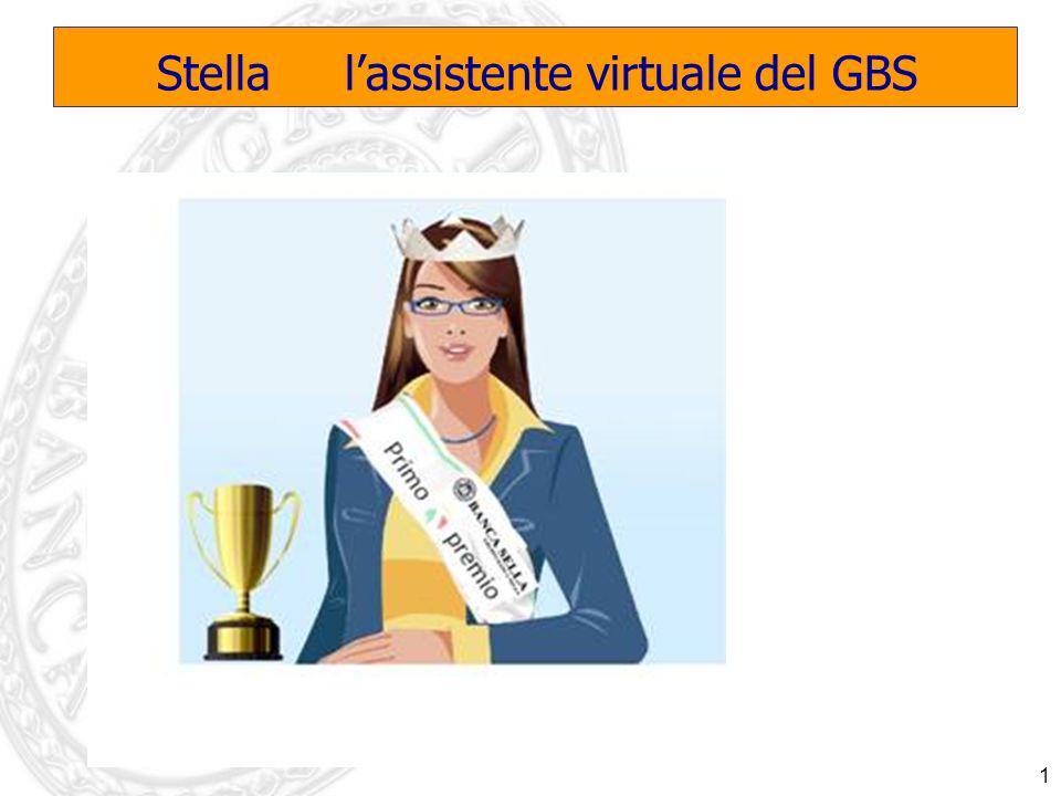 1 Stella lassistente virtuale del GBS