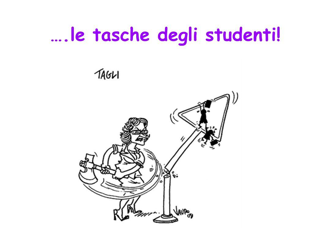 ….le tasche degli studenti!.