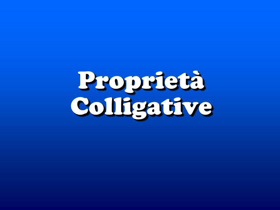 Proprietà Colligative