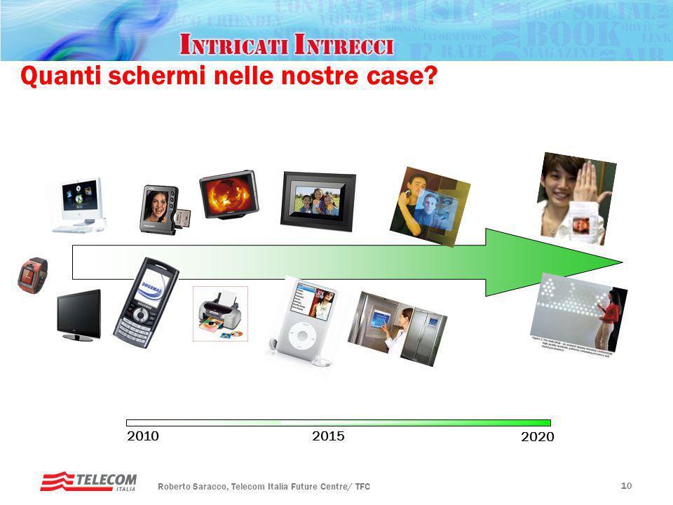 Rotary, Padova – 20 gennaio 2010 Futuro ICT 9 Levoluzione tecnologica: Schermi e interazione 4/8 k screens - ultra HD Interfacce aptiche, gesture reco
