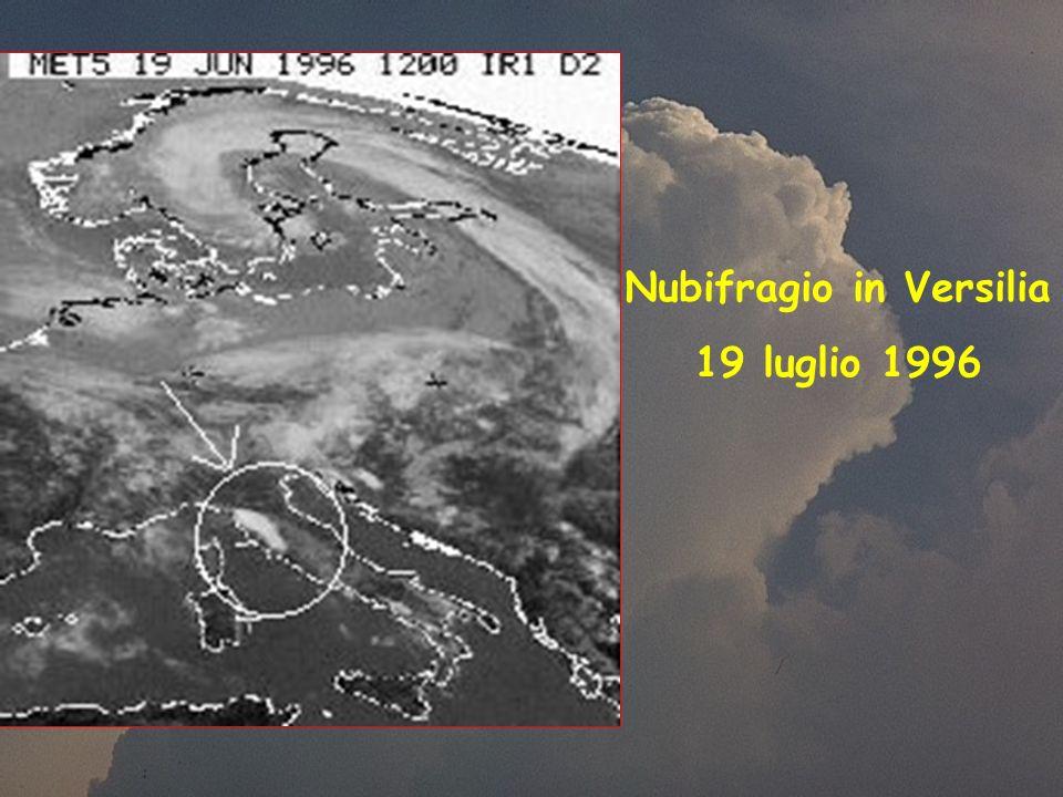 Nubifragio in Versilia 19 luglio 1996