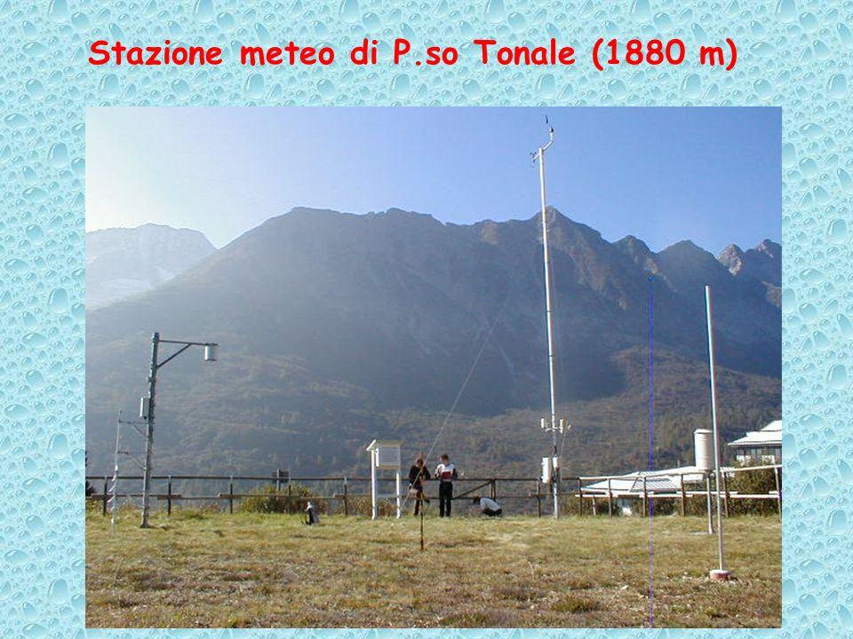 Stazione meteo di P.so Tonale (1880 m)
