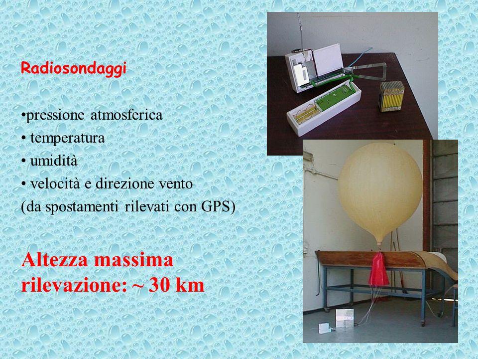 Autosonda presso l Aeroporto di Cuneo Levaldigi Radiosondaggio presso Milano Linate 07/02/05 h12