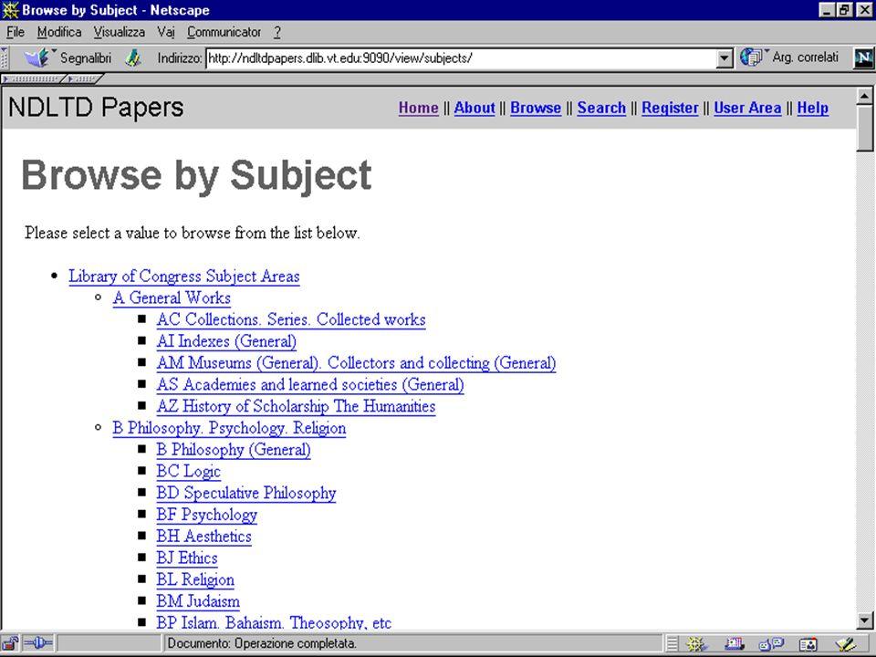 Esempi di siti