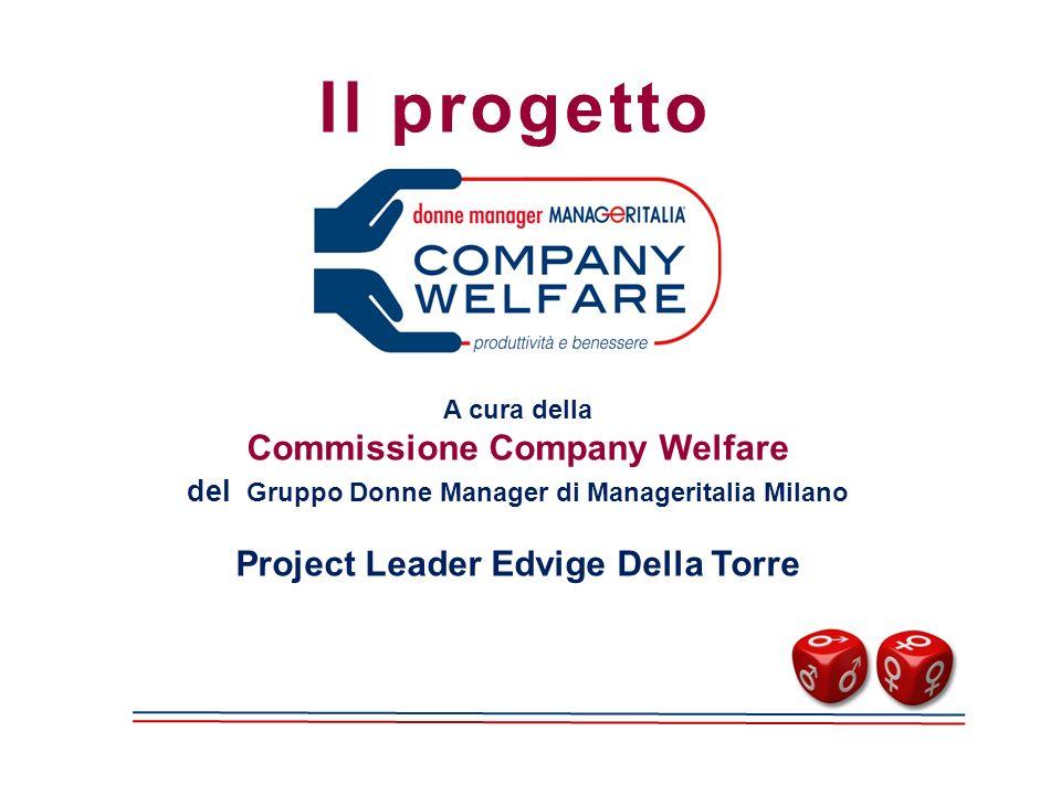 Il progetto A cura della Commissione Company Welfare del Gruppo Donne Manager di Manageritalia Milano Project Leader Edvige Della Torre