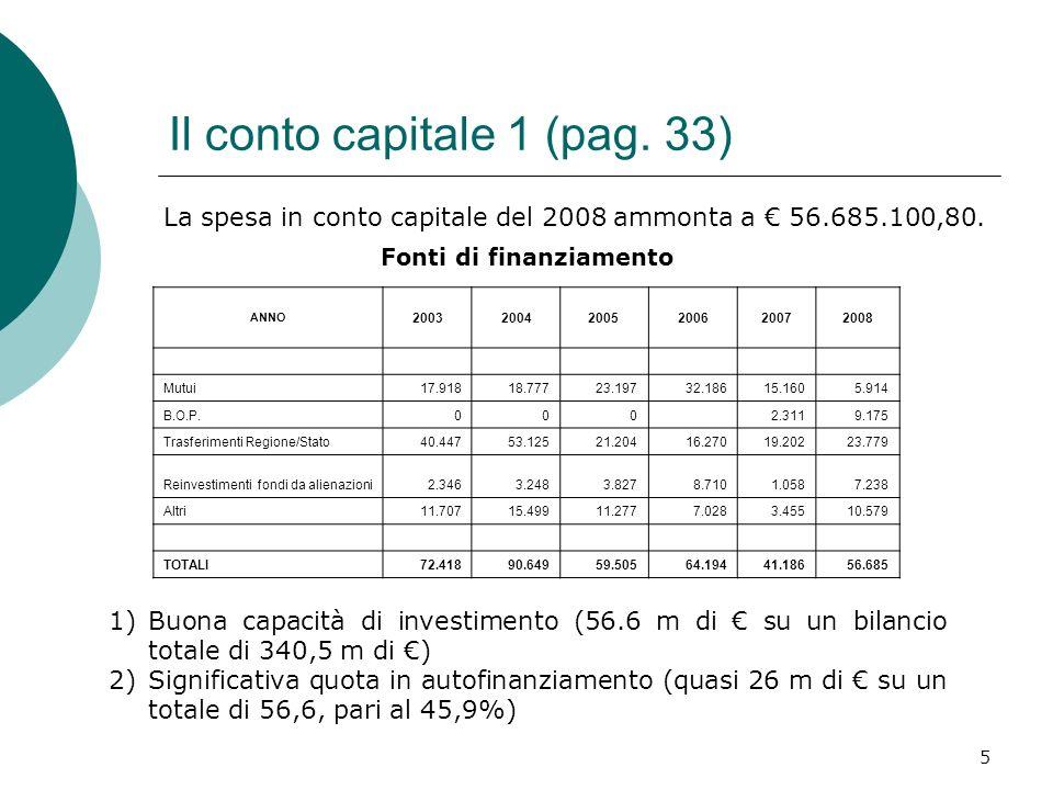 5 Il conto capitale 1 (pag.