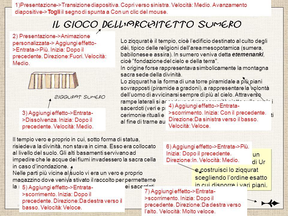 www.latecadidattica.it SCEGLI IL PRIMO ELEMENTO Attenzione:hai solo 5 secondi per scegliere il pezzo giusto.