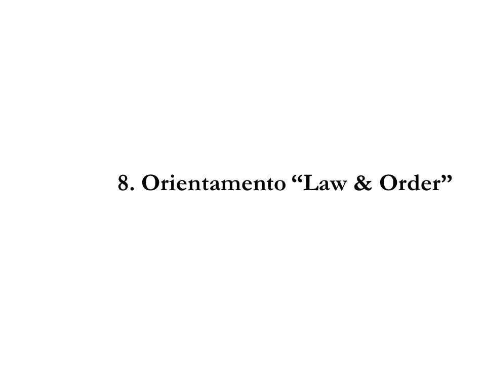 8. Orientamento Law & Order