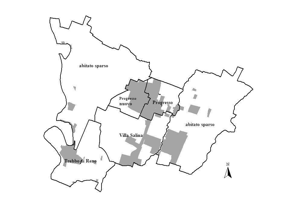 MeDeC - Centro Demoscopico MetropolitanoComune di Castelmaggiore abitato sparso Progresso nuovo Progresso Villa Salina Trebbo di Reno