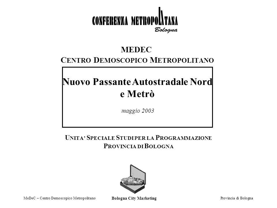 MeDeC – Centro Demoscopico Metropolitano Provincia di Bologna 1.