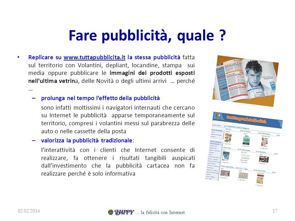 Fare pubblicità, quale ? Replicare su www.tuttapubblicita.it la stessa pubblicità fatta sul territorio con Volantini, depliant, locandine, stampa sui