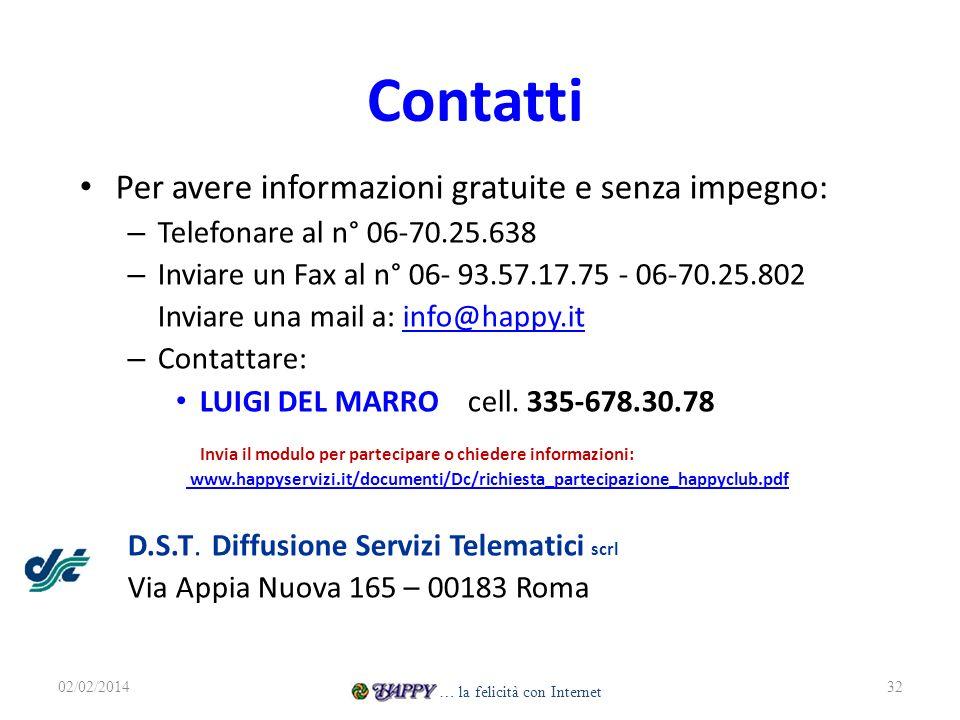 Contatti Per avere informazioni gratuite e senza impegno: – Telefonare al n° 06-70.25.638 – Inviare un Fax al n° 06- 93.57.17.75 - 06-70.25.802 Inviar
