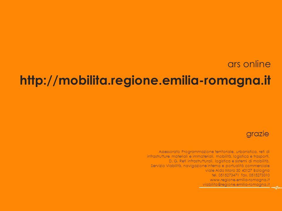 grazie Assessorato Programmazione territoriale, urbanistica, reti di infrastrutture materiali e immateriali, mobilità, logistica e trasporti, D. G. Re