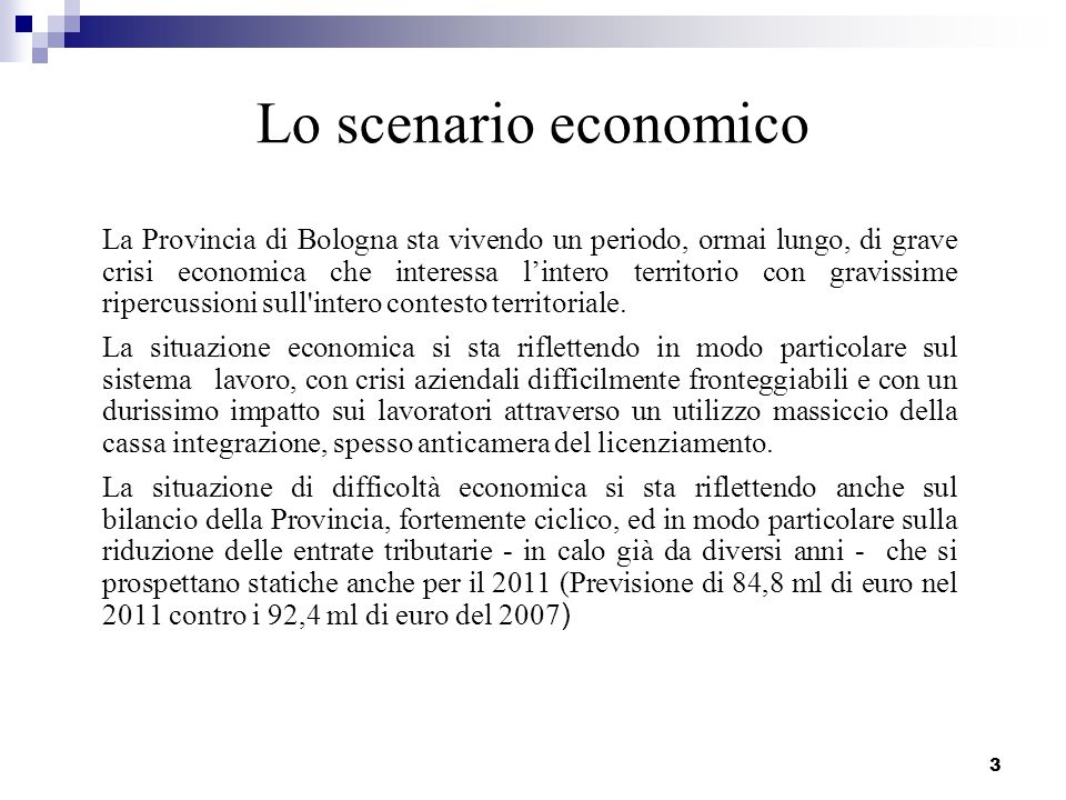 4 LEGGE FINANZIARIA (DI STABILITA) Con la Relazione Unificata sullEconomia e la Finanza Pubblica (documento che a partire da questanno ha sostituito il DPEF) e con il D.L.