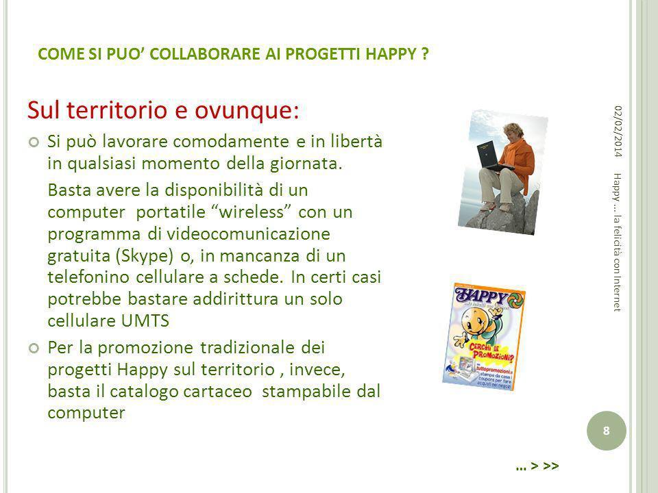 3.COMUNITÀ COMMERCIALI E PORTALI TEMATICI HAPPY Il Network Happy è caratterizzato da: a.