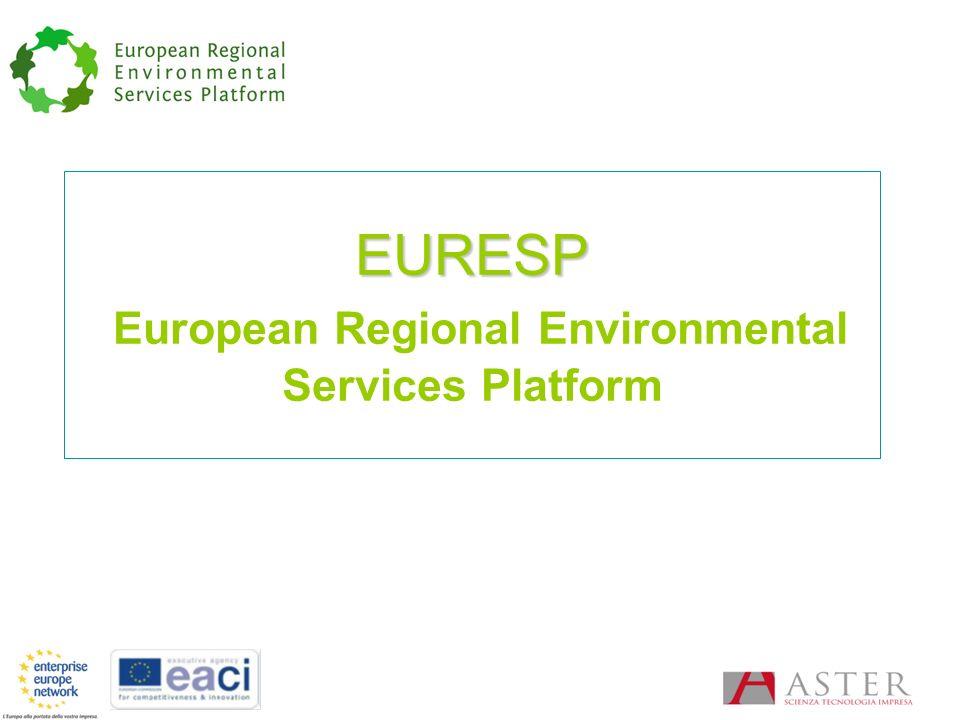 EURESP EURESP European Regional Environmental Services Platform