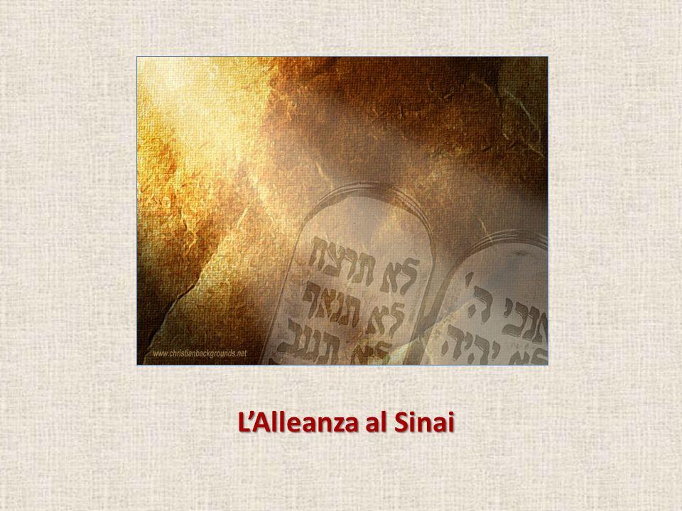 Finalmente al Sinai (Es 19) Mosè ha compiuto la propria missione...