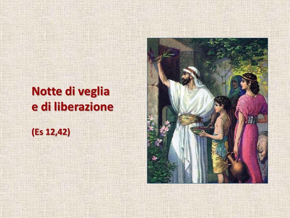 Notte di veglia e di liberazione (Es 12,42)