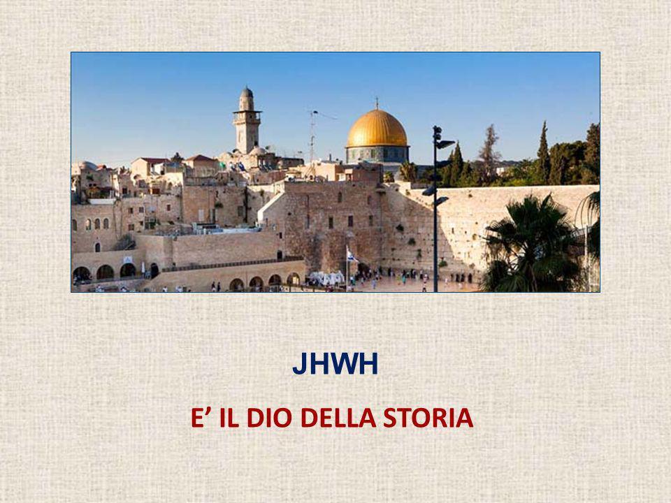 Il «credo storico» di Israele Considerazioni conclusive 1.