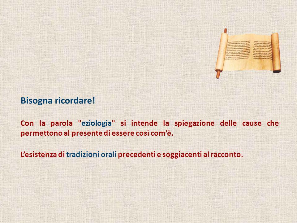 La storia di Giuseppe Nella prossima lezione parleremo di Gn 37; 39-47 (48); 50