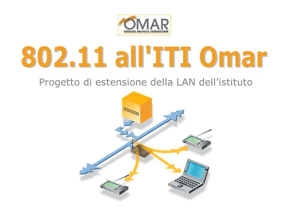 Progetto di estensione della LAN dellistituto