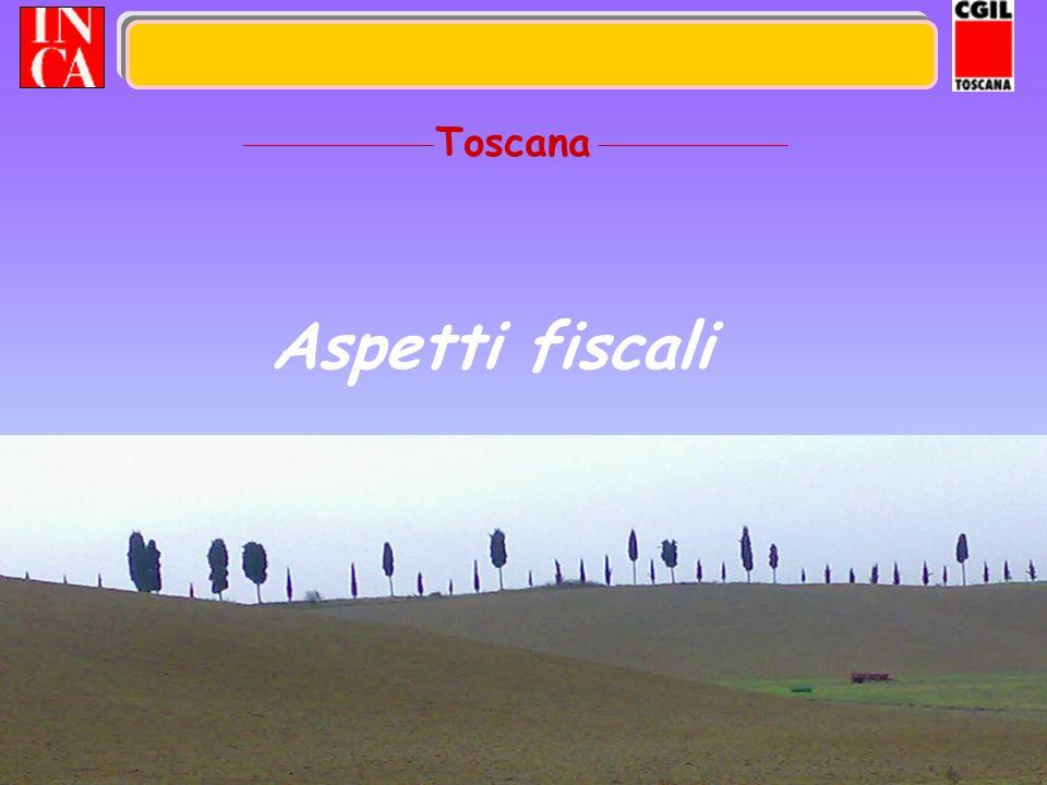 29 Aspetti fiscali Toscana