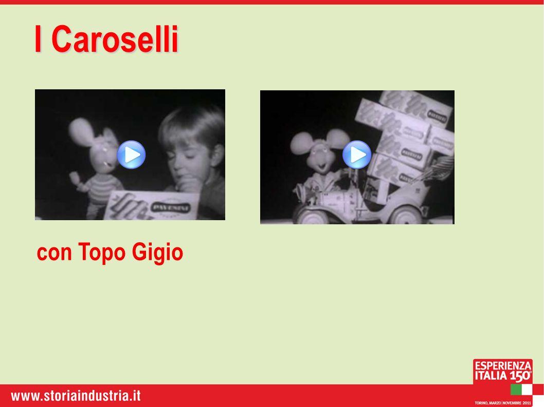 I Caroselli con Topo Gigio