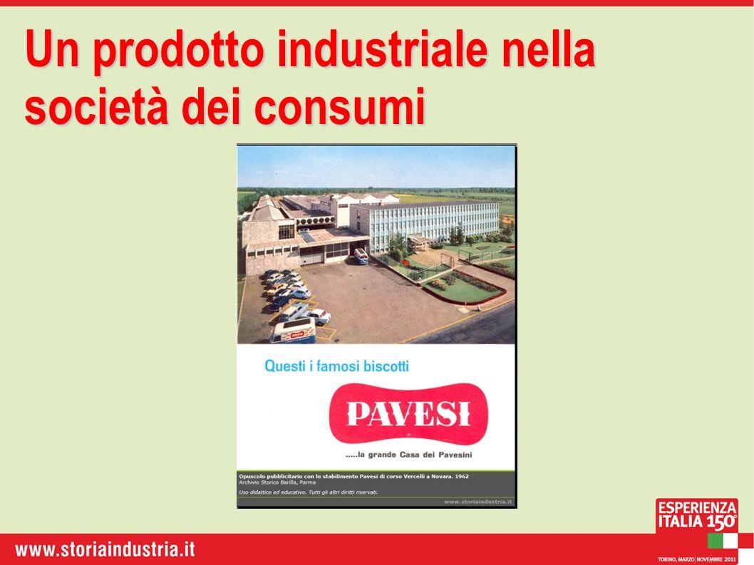 Un prodotto industriale nella società dei consumi