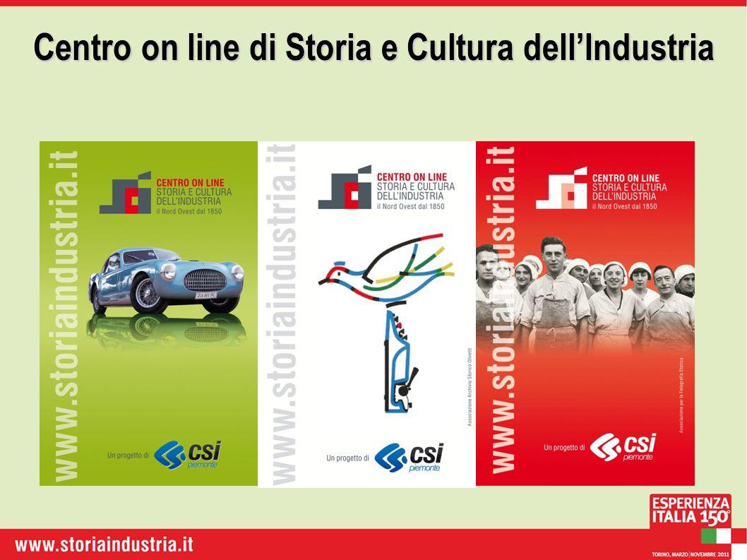 Centro on line di Storia e Cultura dellIndustria