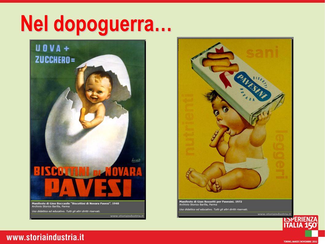 Evoluzionedel biscotto Evoluzione del biscotto 1948: brevetto (ricetta + forma)