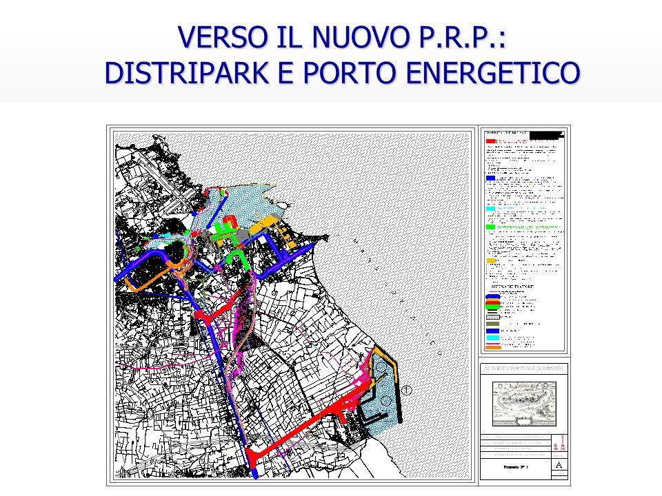 VERSO IL NUOVO P.R.P.: DISTRIPARK E PORTO ENERGETICO VERSO IL NUOVO P.R.P.: DISTRIPARK E PORTO ENERGETICO