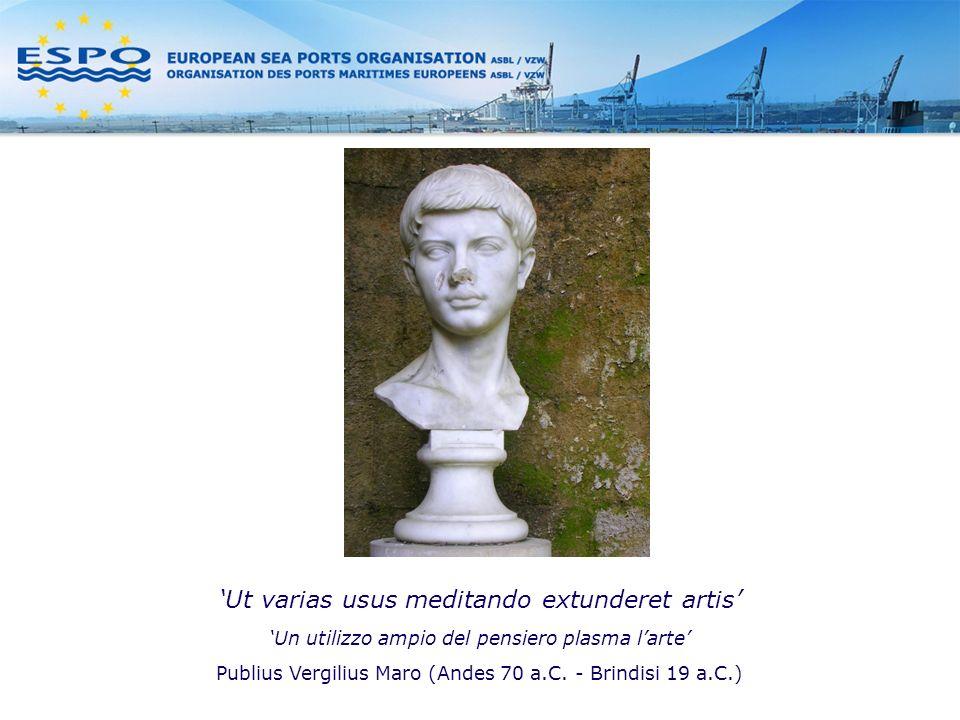 Ut varias usus meditando extunderet artis Un utilizzo ampio del pensiero plasma larte Publius Vergilius Maro (Andes 70 a.C.