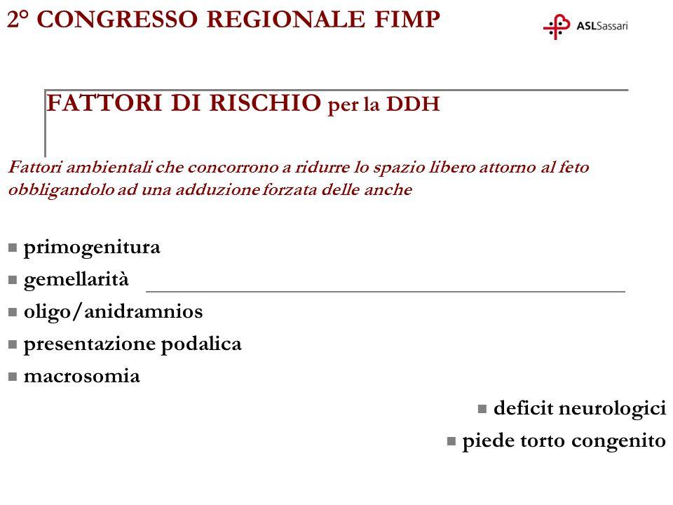 2° CONGRESSO REGIONALE FIMP Retta ausiliaria nellanca patologica