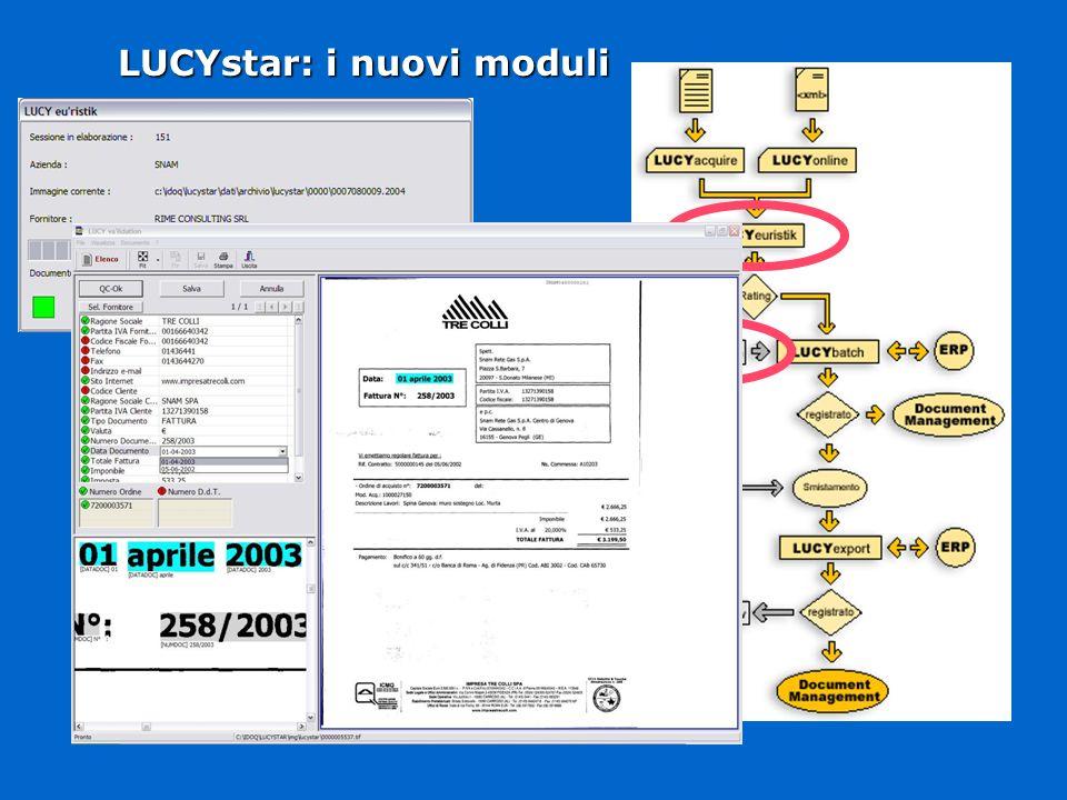 LUCYstar: i nuovi moduli