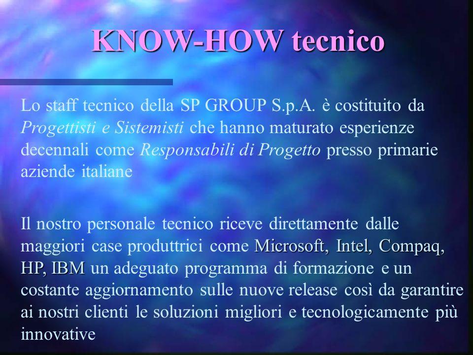 RETE COMMERCIALE Sul versante della vendita il nostro magazzino e il il nostro nostro circuito di approvvigionamento quale: CDC, CELO, COMPUTER 2000,