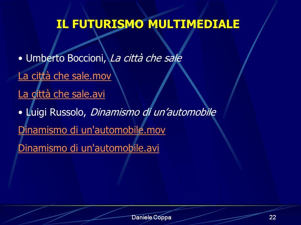 Daniele Coppa21 Il computer rappresenta il presente e il futuro.