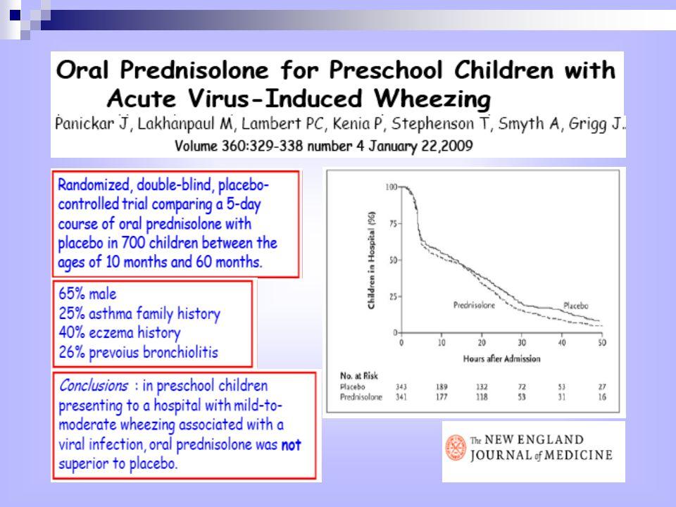 Fenotipi di asma in bambini di età >2 anni Da notare che i fenotipi sono unutile guida al problema predominante e che la sovrapposizione dei fenotipi è frequente.