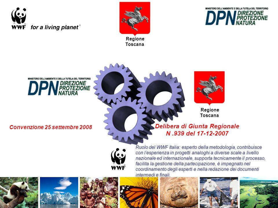 Relazioni del progetto con la Strategia Nazionale per la Biodiversità La convenzione MATTM-WWF Italia prevede la realizzazione di un manuale metodologico utile per la redazione di piani di azione per la conservazione della biodiversità a scala regionale.