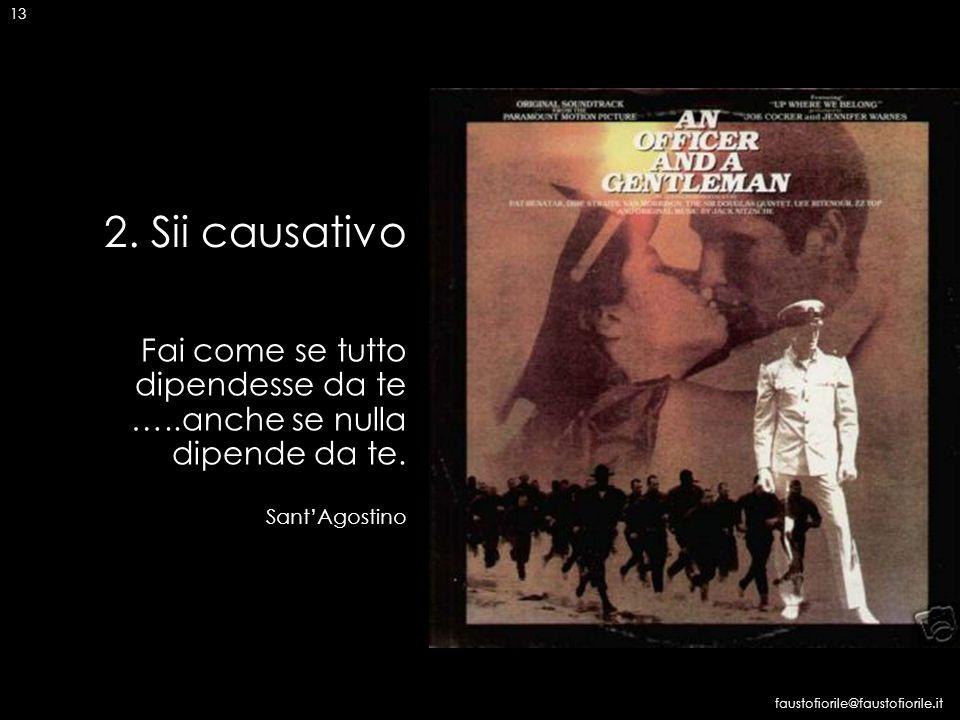 14 3 LE 4 AZIONI VINCENTI faustofiorile@faustofiorile.it