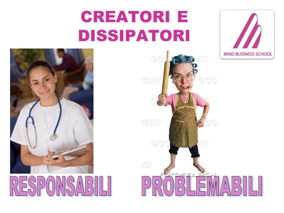 CREATORI E DISSIPATORI