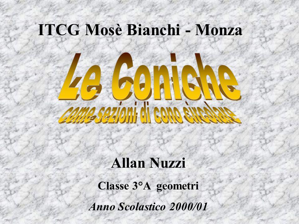 ITCG Mosè Bianchi - Monza Allan Nuzzi Classe 3°A geometri Anno Scolastico 2000/01