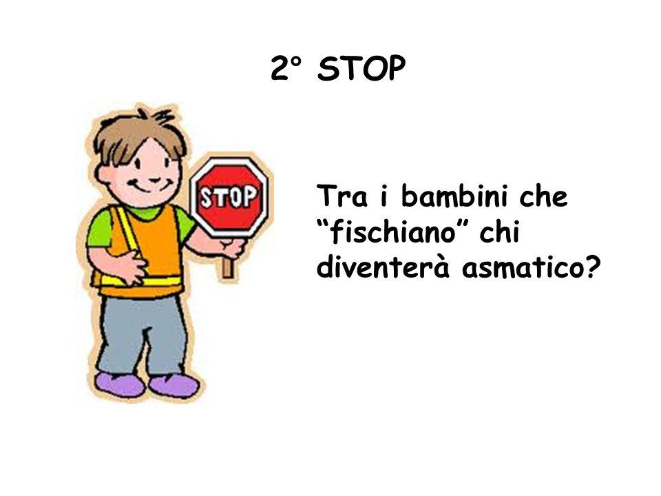 Tra i bambini che fischiano chi diventerà asmatico? 2° STOP