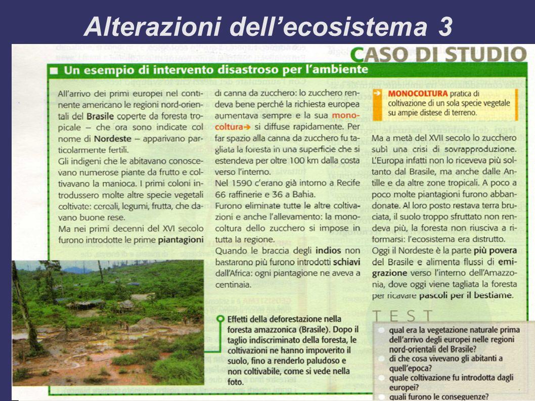 Alterazioni dellecosistema 3