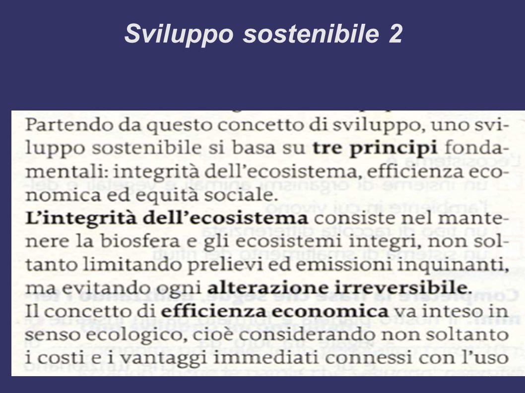 Sviluppo sostenibile 2