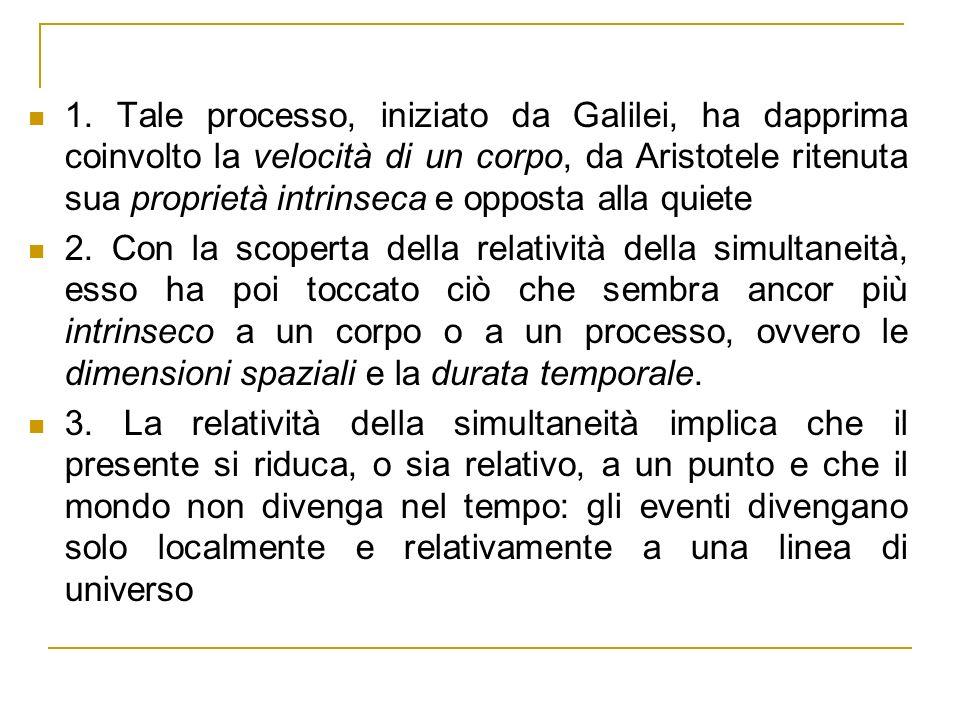 Il moto della Terra attorno al Sole in un Linea di universo del Sole (inerziale) diagramma spaziotemporale