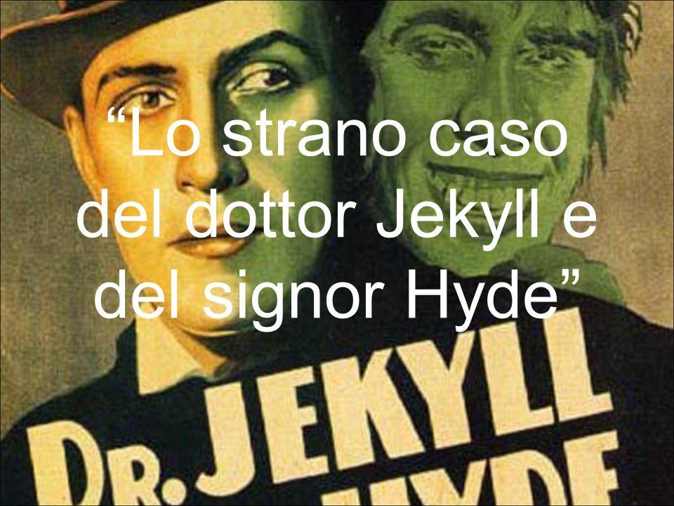 Breve trama Jekyll è uno scienziato che durante i suoi studi e le sue sperimentazioni riesce a creare una pozione in grado di separare le due nature dellanimo umano: quella buona e quella malvagia.