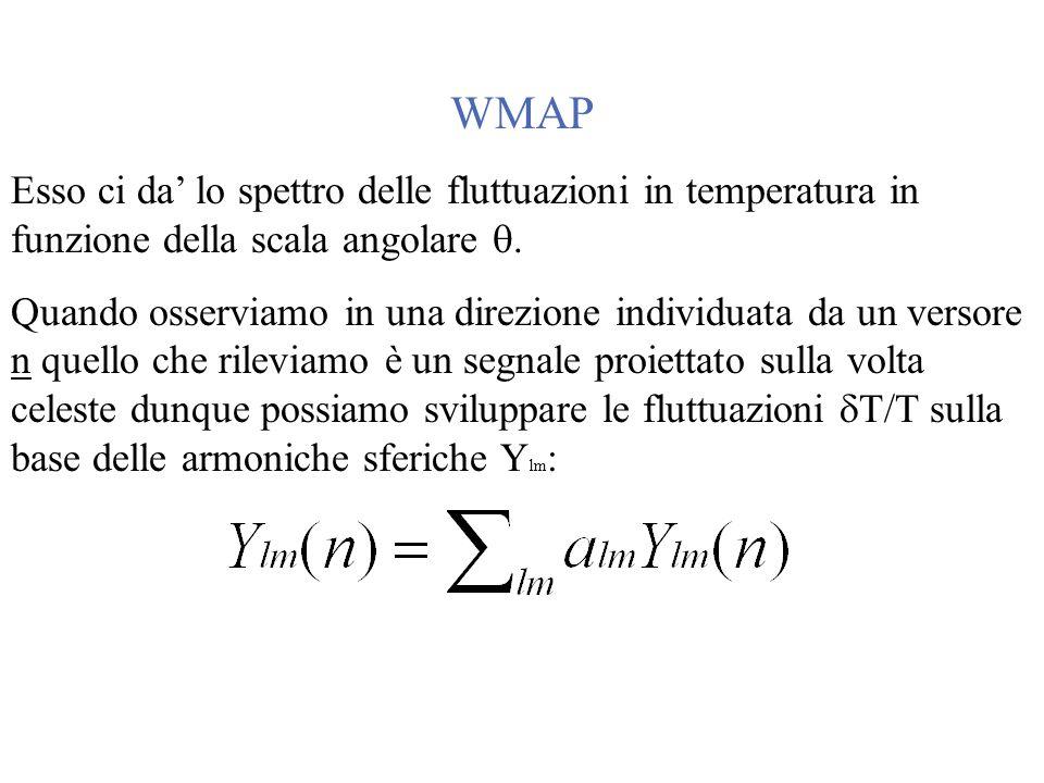 Parametri cosmologici da WMAP+SDSS astro-ph/0310723
